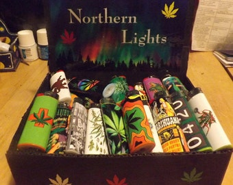 display box for lighters or matches