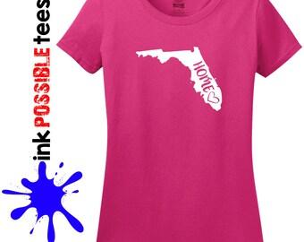 Florida Home Shirt Florida Gift T-Shirt Roots Native
