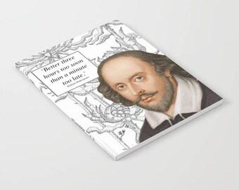 William Shakespeare Notebook
