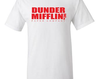 The Office Dunder Mifflin T-shirt - The Office TV Show Gifts