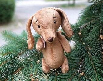 Animal dog Toy dog Dachshund dog Baby dog Dachshund gift Dog artist Stuffed dog Toy dog art Brown dachshund Funny dachshund For dog lovers