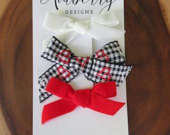 Velvet and Ribbon Valentine's Day Set