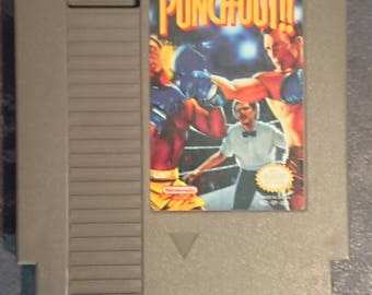 Punchout | Nintendo NES Super Nintendo | Original Game Not REPO