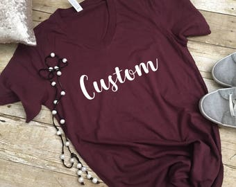 Custom t shirt, Customized shirt, Custom Shirt, Create your Own Shirt, Custom Order, personalized shirt, Customized Order, Custom T shirt