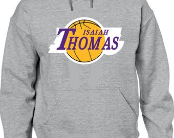Isaiah Thomas Logo High quality Hooded sweat shirt