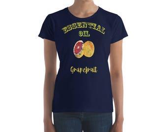 Essential Oil Grapefruit Women's short sleeve t-shirt