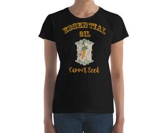Essential Oil Carrot Seed Women's short sleeve t-shirt