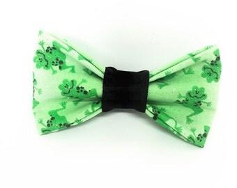 Frog Pet Bow Tie