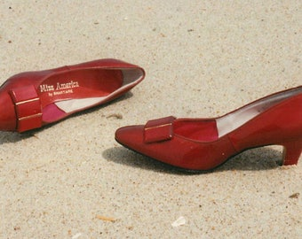 Miss America Red Shoes