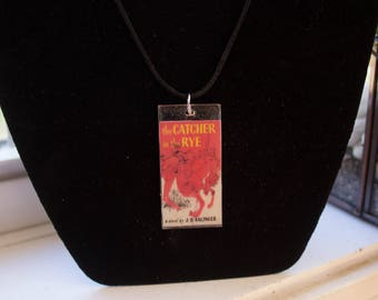 The Catcher In The Rye Book Necklace