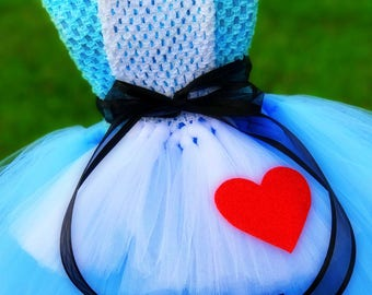 Adult Alice in Wonderland Tutu Dress