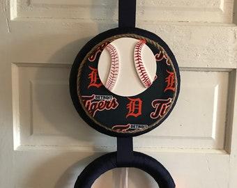 Detroit Tigers Wreath, Baseball Wreath, Sports Wreath, Home decor
