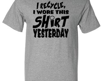 Recycled T-Shirt (Printed on RECYCLED MATERIAL)