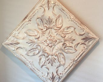 Framed 24-Inch Ceiling Tin Tile