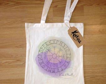Vegvisir cloth bag, tote bag Koikima Store, illustration, woman bag, man bag, cotton bag, natural, gift, tote bag, original