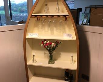 Oak Boat Shelf