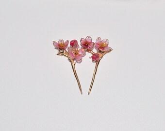 Sakura blossom (Hairpin for BJD)