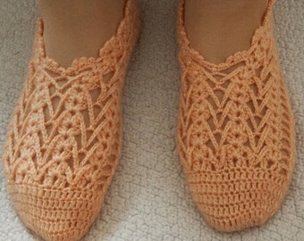 Crochet women slippers, crochet slippers, women slippers, knitted slippers, slippers, Winter Socks, House Shoes, Turkish Patik