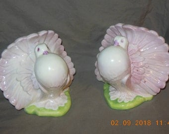 Brayton Laguna Pottery bookends Birds California Pottery Vintage pottery bookends