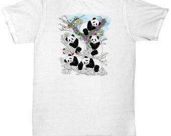Panda TShirt, Panda Tee, Panda Tees, Panda Shirt, Panda Lover, Animal TShirt, Animal Tees, TShirts, Teeshirts, Tees, Women TShirt, Shirts