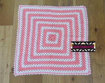 Baby Blanket - Granny Square