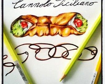Sicilian Cannolo