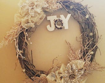 Unique and beautiful hand crafted wreaths and garland