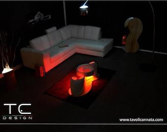 Unique coffee table-Luxury living room TCDesign