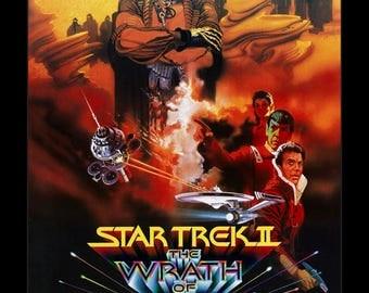 Star Trek II The Wrath of Khan - 11x17 Framed Movie Poster