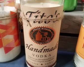 Tito's Vodka Soy Candle