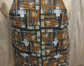 Grill On Apron