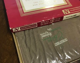 Royal Stretch the ultimate in run resistant nylons vintage stockings