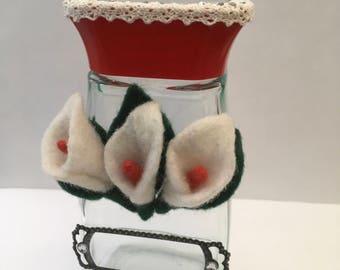 Lilly Beauty Storage Jar