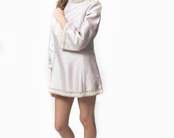 Vintage 1970's Austin Powers Dress