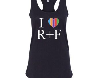 I heart RF tee
