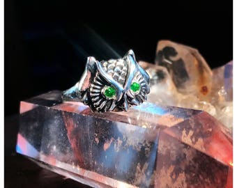 Owl Nocturne Ring [Made to Order]
