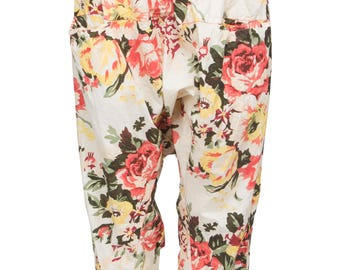 Ewa i Walla pants with floral print