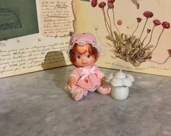 Vintage Strawberry Shortcake Very Berry Baby with Bottle Complete!
