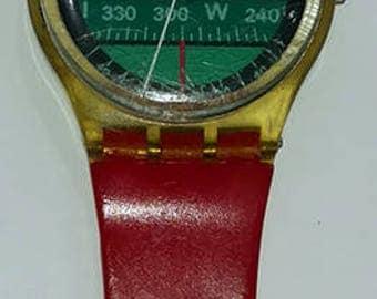 Rare Vintage Nautilus Swatch Watch GK102
