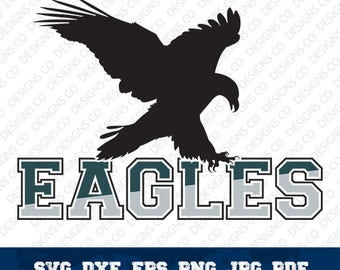 Philadelphia Eagles,NFL,Football Team,Logo Silhouette,Philadelphia Eagles Football,Vector File,Cricut Design,svg-dxf-png,digital file,OUT-4