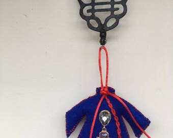 Qipao felt ornament