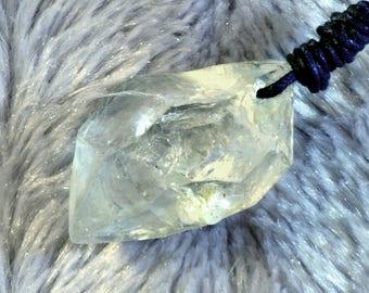 N219 Herkimer Quartz pendant