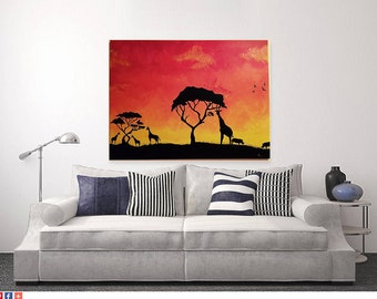 African Desert Sunset