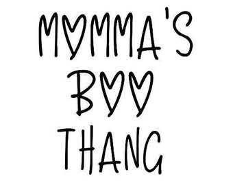 Momma's Boo Thang T-Shirt
