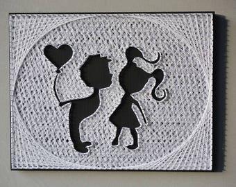 I Love You More Love Artwork Family Room Wall Art Modern Love Art Couples Love Art I Love You Wall Art Gift for gf Nature Love Gift