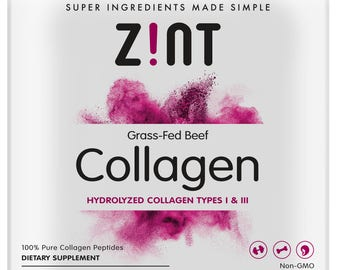 Hydrolyzed Collagen Powder (16 oz): Anti Aging Collagen Peptides Protein Supplements