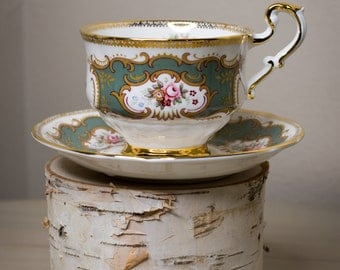 Paragon by appointment to Her Majesty the Queen tea cup and saucer
