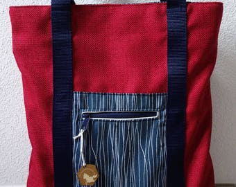 RuckTa (backpack bag, two in one)