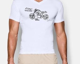 SKART - CafeBrake - T-Shirt, vNeck - SUPPORTER EDITION