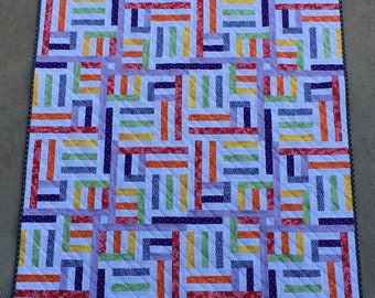 """Baby quilt-""""Complicated"""""""